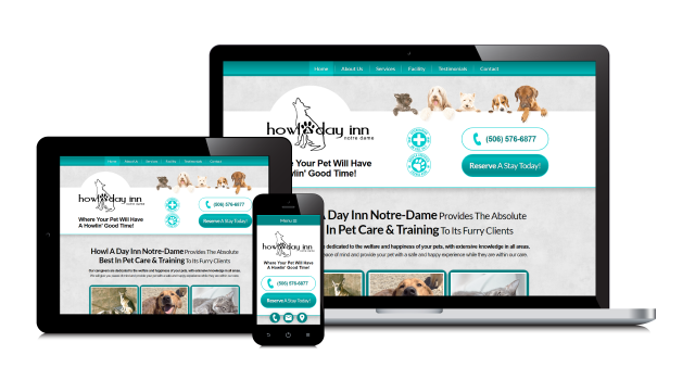 A Fresh New Website Experience for Howl A Day Inn!