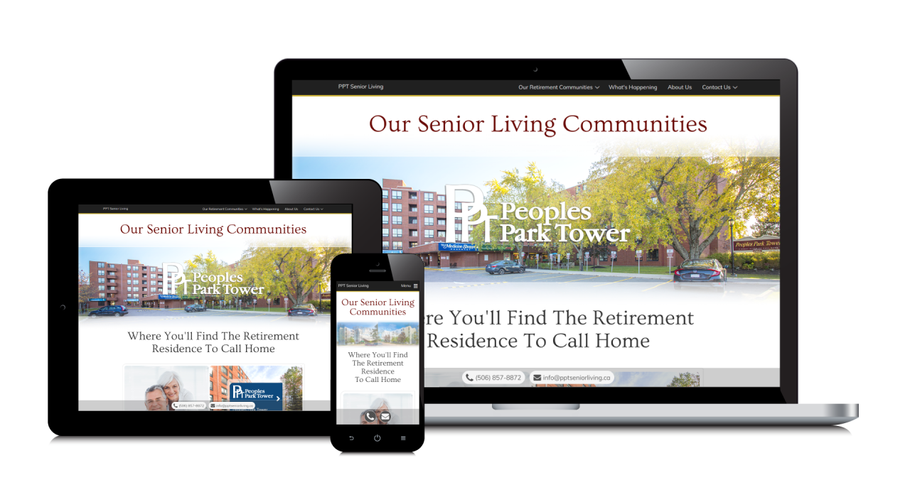 PPT Senior Living's New Website